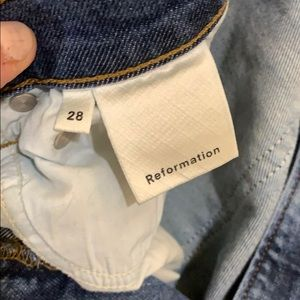 Reformation Jeans - Reformation high and skinny jean in rhine